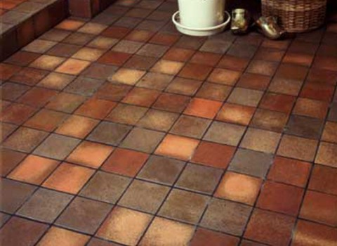 Quarry Tile Shade Range